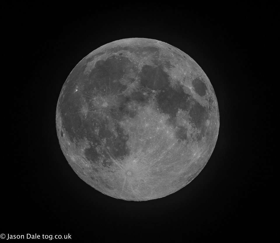 Super Full Moon From Llanelli