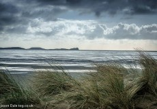 View From Cefn Sidan