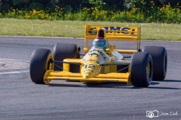 Lotus F1 Car At Pembrey Race Circuit