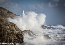 Mumbles Lighthouse Storms