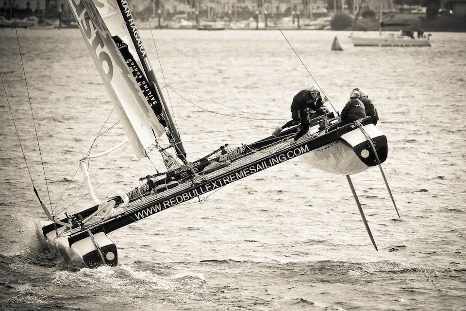 Red Bull Extreme Sailing In Cardiff
