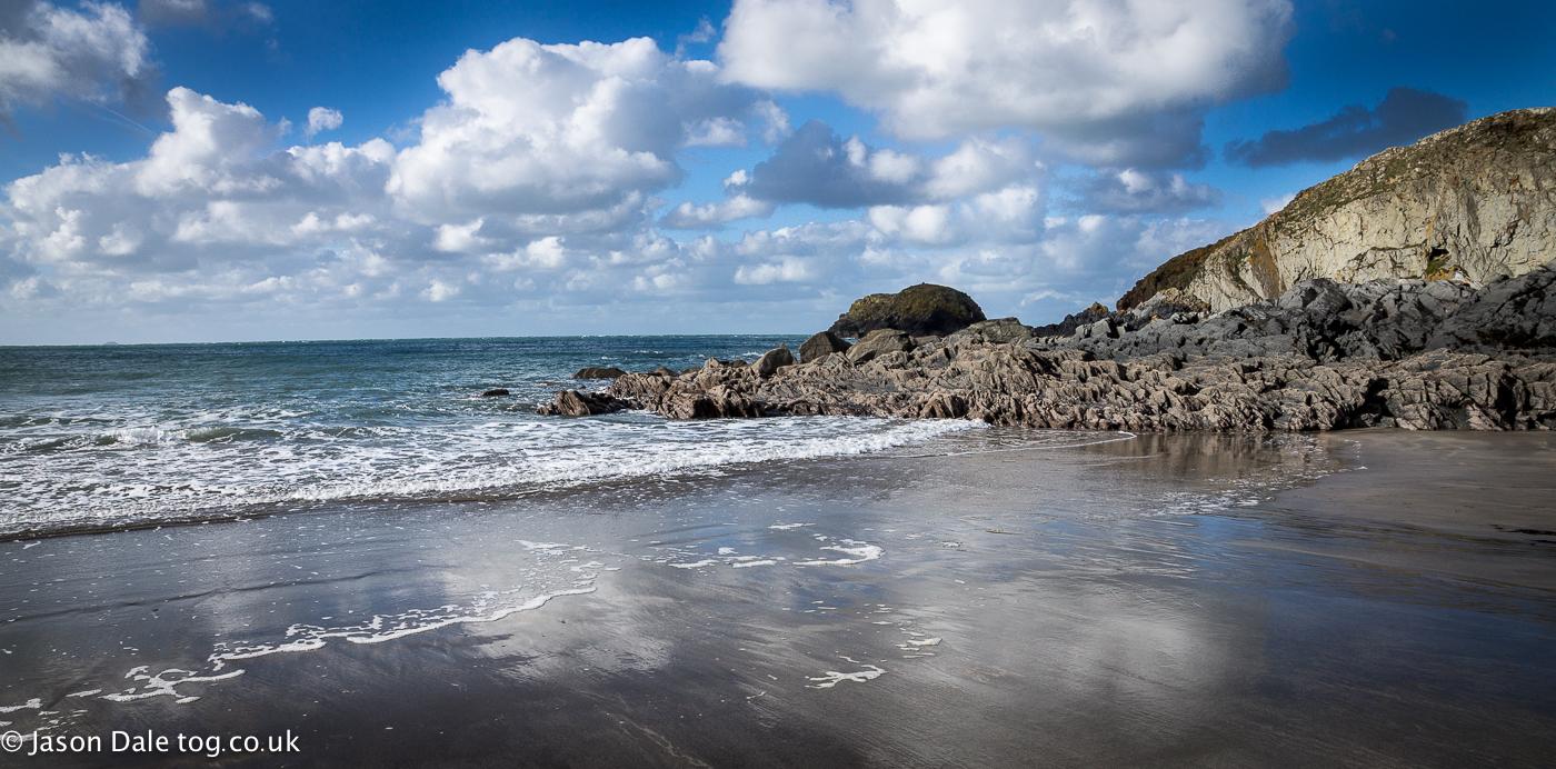 Pembrokeshire Beach Reflections