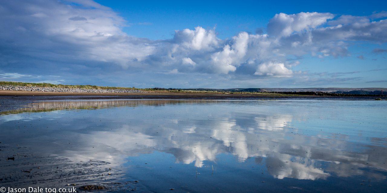 Machynys Beach Reflections