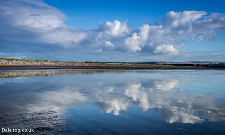 Machynys Beach Reflections