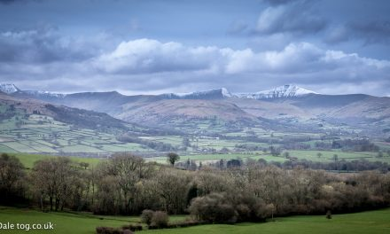 Snowy Brecon Beacons