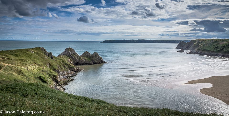 View Of Three Cliffs – Gower