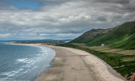 Llangennith Beach From Rhossili
