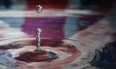 Scottish Referendum Water Drop Photography