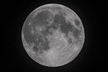 Super Full Moon From Llanelli
