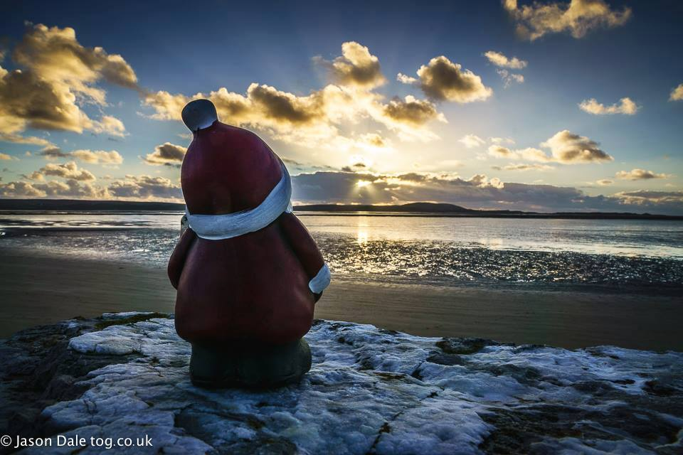 Santa At Machynys