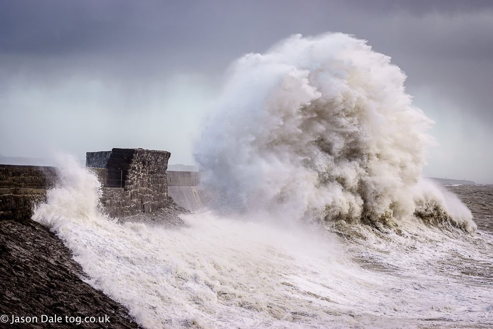 The Porthcawl Storm Yeti Wave