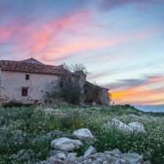 Spanish Ruin Sunset
