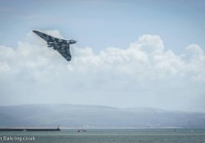 The Vulcan At Swansea Air Show