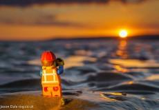 Sunset Lego