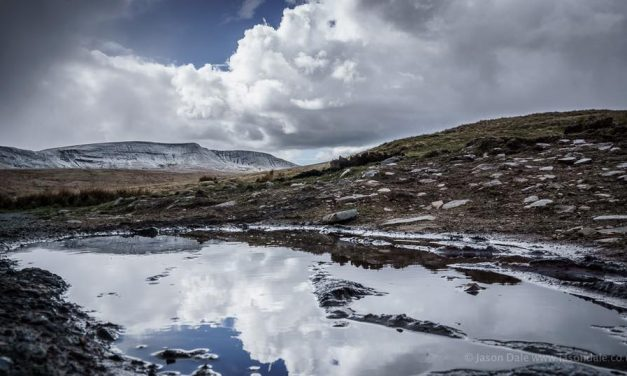 Brecon Beacons Puddleography