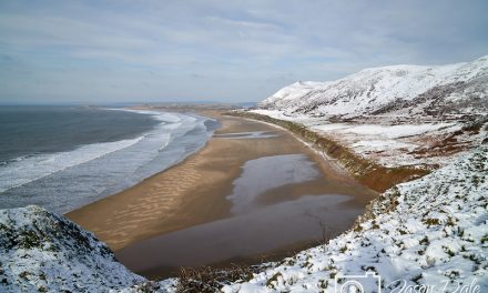 Snow At Rhossili 2019