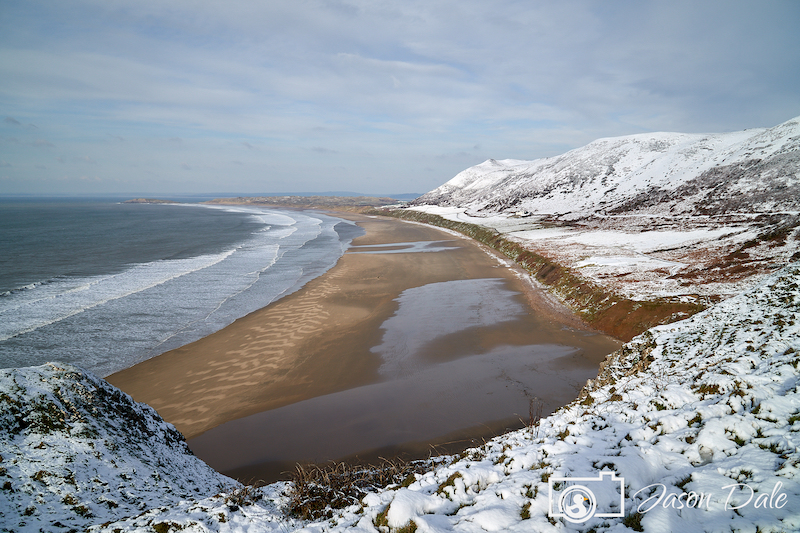 Snow At Rhossili