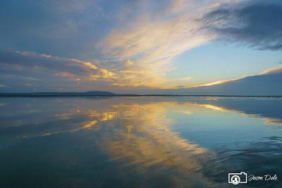Blue Machynys Bay