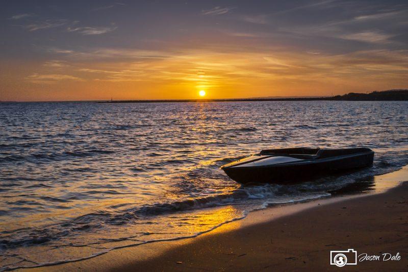 Machynys Bay Boat