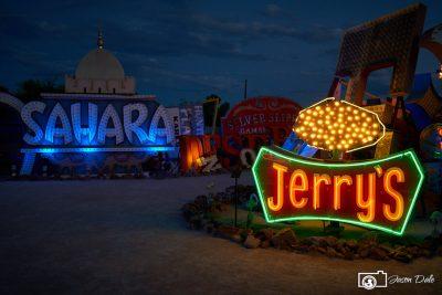Jerry's Neon Lights