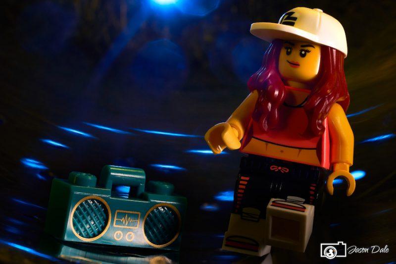 Lego Breakdancer