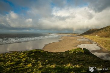 Rhossili Bay – A View From January!
